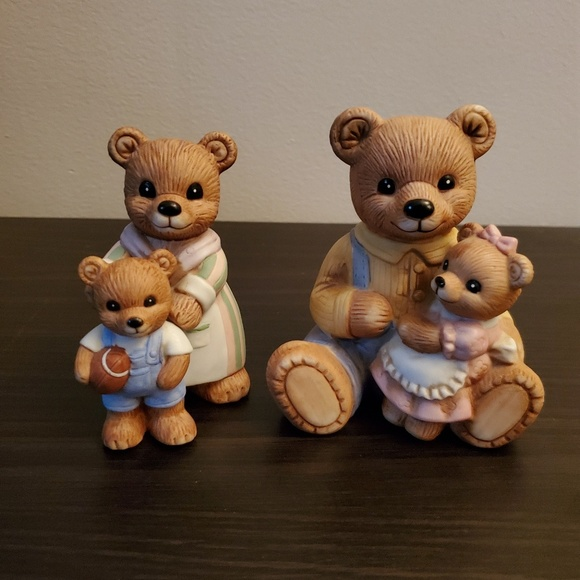 Home Interiors Other - Bear Figurines